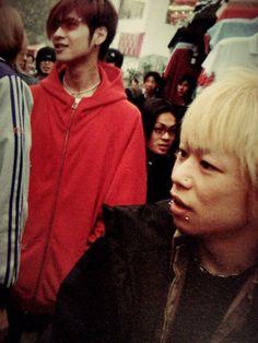 Kyo and Toshiya, Dir en grey, 2002