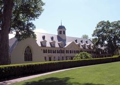Westover School, Middlebury, CT, 1909, Theodate Pope Riddle, architect.