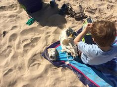 How our boy with autism experiences the beach