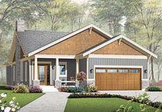 Elevation of Craftsman   House Plan 76293