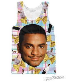 Carlton Tank Top - RageOn! - The World's Largest All-Over-Print Online Store
