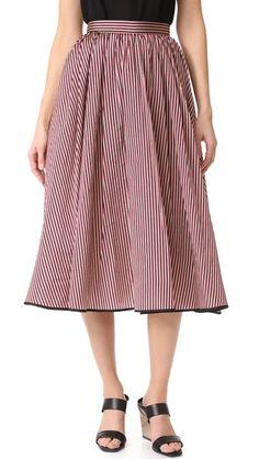 TOME Skirt. #tome #cloth #dress #top #shirt #sweater #skirt #beachwear #activewear