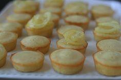 Lemon Tea Cakes - perfect little tea time snack. Tart, sweet, light.