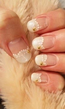 mooi kant op nagels