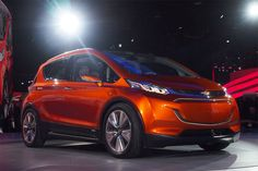 Chevrolet is moving forward with its plans to build the long-range, all-electric Bolt. The crossover-style EV was unveiled a month ago as a concept car a