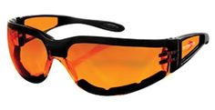 Bobster Shield Sport Sunglasses,Black Frame/Amber Lens,one size Bobster Eyewear. $19.98. Lenses are prescription ready (Rx-able). Y. Polycarbonate lens. Polycarbonate frame. Made in Taiwan. 100% UV protection coating. Case included
