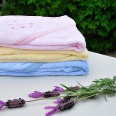 Ook voor de allerkleinste zijn er handdoekjes met capuchon