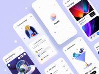 Node – Crypto NFT iOS UI Kit / Fans | Dribbble Motion App, Directory Design, Ios Ui, Ui Design Inspiration, Job Opening, Ui Kit, Mobile Design, Portfolio Design