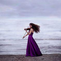 Music, purple, seaside- perfect! By Liisa Härmson (amazing photographer!)