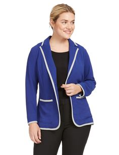 Colorblock Blazer Wi