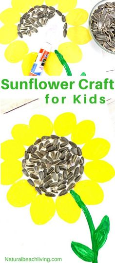 Easy Sunflower Art f