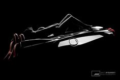 Krása Ženského Tela - Lambda (c) Matt Rybansky  bw color black and white art nude photography model luxury sport car ferrari | beauty of female body