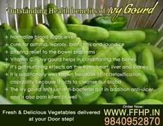 Health Benefits of Ivy Gourd!