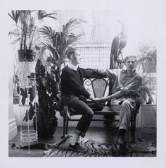 Ted Carey and Andy Warhol, ca. 1958     gelatin silver print    3 5/8 x 3 1/2 in. (9.2 x 8.9 cm.)    The Andy Warhol Museum, Pittsburgh; Founding Collection, Contribution The Andy Warhol Foundation for the Visual Arts, Inc.    1998.3.14999