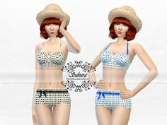 High Waisted Bikini at Sakura Phan via Sims 4 Updates