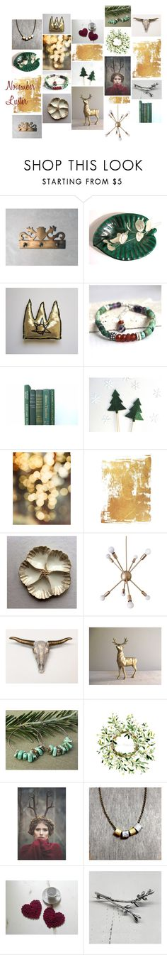 """""""November Luster"""" by insearchofwild ❤ liked on Polyvore featuring interior, interiors, interior design, home, home decor and interior decorating"""