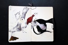 Sketchbook: Moleskine - Kenn Goodall / Art & Illustration