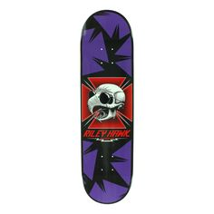 #Baker Skateboards Baker Hawk Tribute Skateboard Deck - Purple 8.25` #Features:Deck width: 8.25Deck Length: 31.875Wheelbase: 14.25Riley Hawk - Tribute GraphicMellow ConcaveMaterial:Canadian mapleThis deck is an homage to Riley hawks dad and world renowned skater Tony Hawk. Featuring graphics inspired by some his old mans original decks. New deck, classic style. (Barcode EAN=5056171008258)