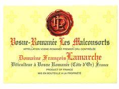 Vosne-Romanée 1er Cru Les Malconsorts Domaine François Lamarche