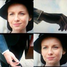 NEW SPOILERS PICS from a scene of #Outlander Season 2 aired on #STARZ! #CaitrionaBalfe #ClaireFraser [thanks veedelilah/twitter]
