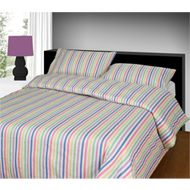 Multi Flannelette Candy Stripe Duvet Cover by Bedding Heaven Flannelette Sheets, Striped Bedding, Bed Curtains, Candy Stripes, Quilt Cover, Stripes Design, Duvet Cover Sets, Bedding Sets, Pillow Cases