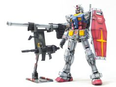 Custom Build: RG 1/144 RX-78-2 Gundam - Gundam Kits Collection News and Reviews