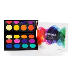 Creative Me #1 Palette by coastal scents - - - dupe for urban decays electric palette