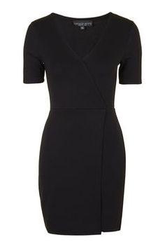 PETITE V-Wrap Jersey Dress