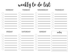 24 Hours Schedule Template