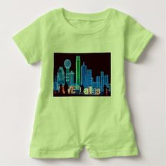 Austin rocks t shirt dallas baby romper baby gifts child new born gift idea diy cyo special negle Gallery