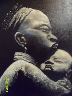 A Negra- Pintura Acrílica sobre tela 50 x 70 cm . Esta a venda por R$ 1.500 Reais.