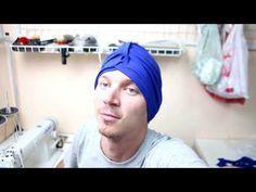 Как сшить чалму своими руками - YouTube