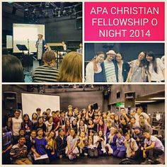So great to be back at APA Christian Fellowship O Night again this year!  Great to meet so many of the new students and also a touching reunion time for many of us graduates. It is my honour and blessing to be a part of this family! Add oil and stick close to Jesus everyone! Let's see what amazing things God will do in this next year!