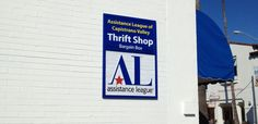 All League Thrift Shop - Business Sign | Starfish Signs & Graphics