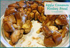 YUMMY & DELICOUS Apple Cinnamon Monkey Bread