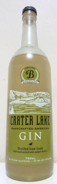 Crater Lake Gin Oregon USA