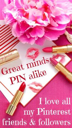 Great minds PIN alike... I love all my Pinterest friends and followers <3 Tam <3