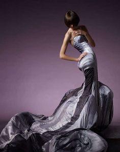 Space-Goth Fashion: Scherer Gonzalez Futuristic Collection