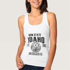 #Idaho Tank Top - #travel #trip #journey #tour #voyage #vacationtrip #vaction #traveling #travelling #gifts #giftideas #idea