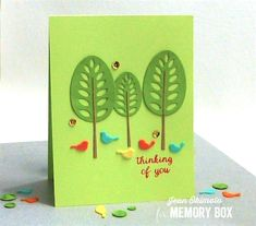 MemoryBoxTorranceTrees-MemoryBoxRestingBirds-MemoryBoxSpringtimeBunniesClearStamps-JeanOkimoto-VersaFine-ImagineCrafts-Felt