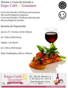Expo Café & Gourmet 4ta. Edición / #Guadalajara / 27, 28 Feb y 1 marzo 2014