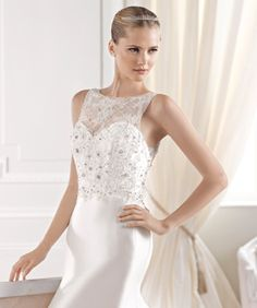 ELIORA wedding dress from the Costura 2015 - La Sposa collection La Sposa Wedding Dresses, Fashion Group, Couture Collection, Getting Married, One Shoulder Wedding Dress, Destination Wedding, Glamour, Formal Dresses, Collections