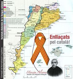 1. El primer, el mapa de la llengua El concepte de Països Catalans s'atribueix a l'historiador i jurista valencià Benvingut Oliver, en un llibre publicat el 1881. Tanmateix el primer ma…