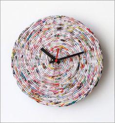 20 Unusual and Creative DIY Clocks