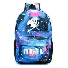 Now available online:  Anime Harajuku Fa... Love it http://www.ejulaba.com/products/anime-harajuku-fairy-tail-backpack-new-2016-fashion-luminous-galaxy-canvas-backpack-teenager-school-bag-rucksack-mochila-escolar?utm_campaign=social_autopilot&utm_source=pin&utm_medium=pin