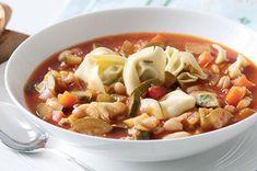 Italská rajčatová polévka | Apetitonline.cz