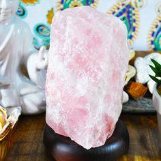 Home Accessories Design Rose Quartz - Rose Quartz Crystal Lamp Selenite Lamp, Quartz Lamp, Yellow Tree, Himalayan Salt Lamp, Rose Quartz Crystal, Crystal Healing, Apartment Interior Design, Apartment Ideas, Turquoise