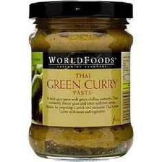 World Foods Thai Green Curry Sauce (6x12oz )