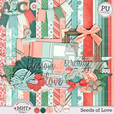 FREE Freebie Friday : Seeds of Love By MHT Designs [ Total 6 Parts ]