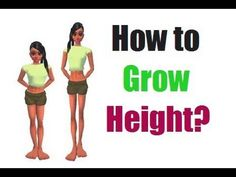 Some Natural Methods to Grow Taller Fast Increase Height, Physical Change, How To Grow Taller, Exercise, Health, Ejercicio, Health Care, Excercise, Work Outs